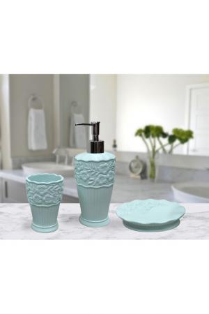 Набор для ванной Sofi De Marko. Цвет: бирюзовый