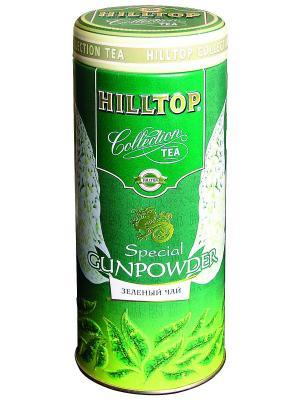 Чай Hilltop Collection Спешиал Ганпауда (зеленый) в ж/б 100 гр.. Цвет: зеленый