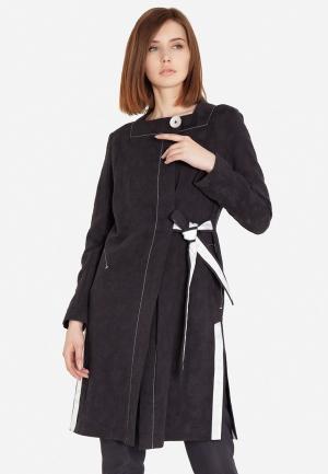 Пальто JN. Цвет: черный