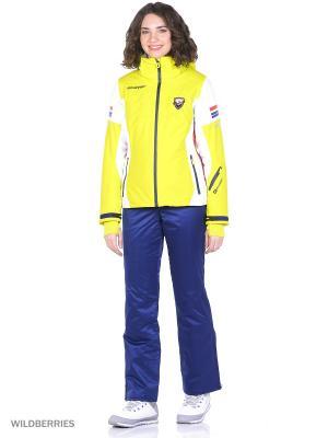 Куртка Stayer. Цвет: желтый, светло-желтый