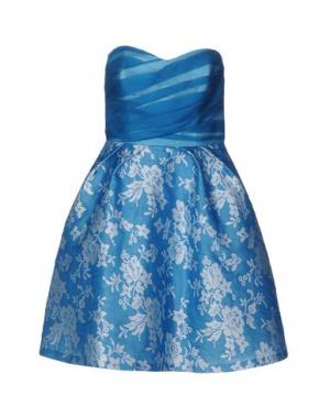Короткое платье CAILAN'D. Цвет: лазурный
