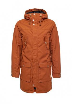 Парка Wear Colour. Цвет: коричневый