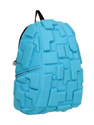 Рюкзак Blok Full, цвет голубой MadPax. Цвет: голубой