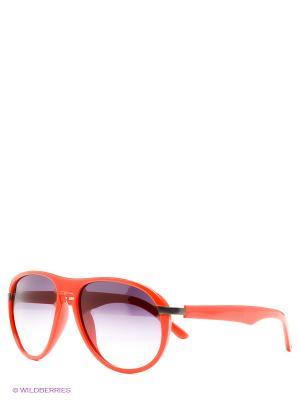 Солнцезащитные очки United Colors of Benetton. Цвет: красный