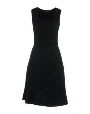 Платье до колена ANTONINO VALENTI. Цвет: темно-зеленый