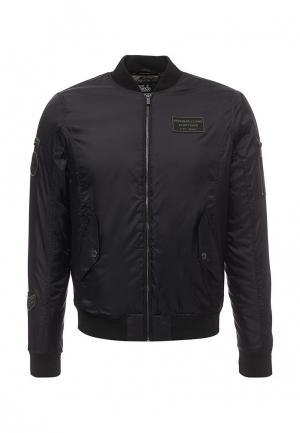 Куртка утепленная Fresh. Цвет: черный
