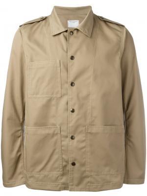 Куртка с принтом пальмы Htc Hollywood Trading Company. Цвет: телесный