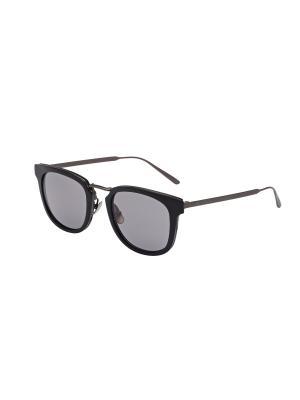 Солнцезащитные очки Bottega Veneta. Цвет: черный, серый