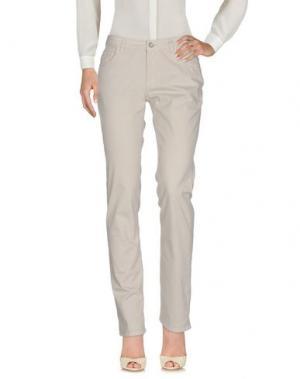 Повседневные брюки BALLANTYNE. Цвет: светло-серый
