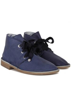 Ботинки GIEMME. Цвет: синий