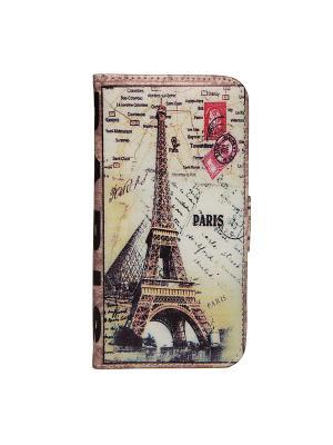Чехол для IPhone 6 Париж Mitya Veselkov. Цвет: черный, коричневый, красный, белый