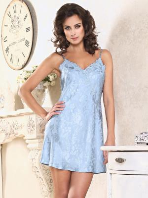Сорочка MIA-AMORE. Цвет: голубой