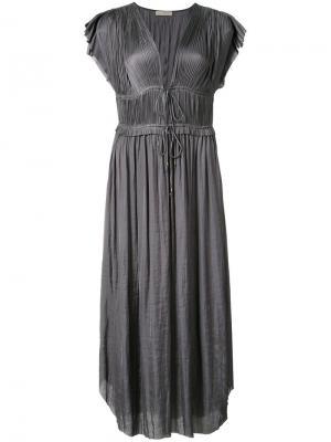 Платье Kaiya Ulla Johnson. Цвет: серый
