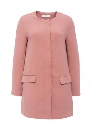 Пальто Befree. Цвет: розовый