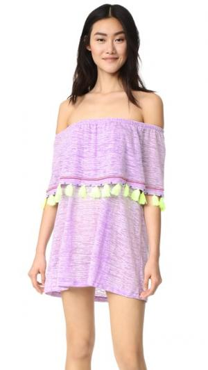 Мини-платье Ibiza Pitusa. Цвет: лаванда