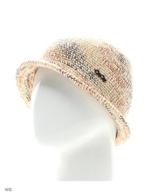 Шляпа Калейдоскоп ТТ. Цвет: коричневый, бежевый