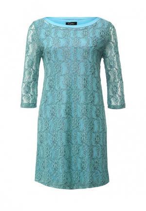 Платье Byblos. Цвет: бирюзовый