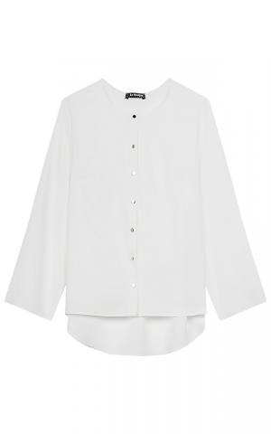 Белая блузка Le monique