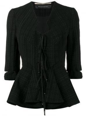 Приталенный пиджак Hanover Roland Mouret. Цвет: чёрный