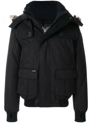 Куртка-пуховик Cartel Nobis. Цвет: чёрный