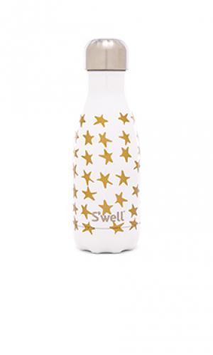 Бутылка для воды love 9oz Swell S'well. Цвет: белый
