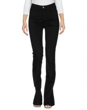 Джинсовые брюки M.I.H JEANS. Цвет: черный