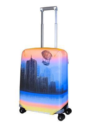 Чехол для чемодана  Zeppeline S Coverway. Цвет: оранжевый