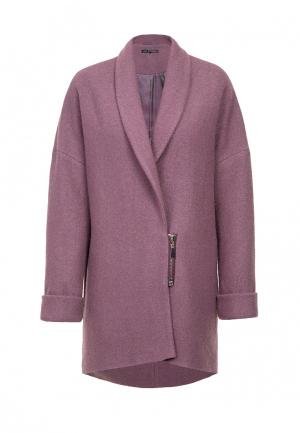 Пальто JN. Цвет: фиолетовый