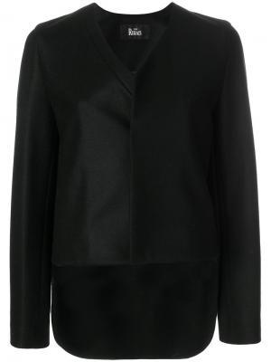 Асимметричная куртка The Reracs. Цвет: чёрный