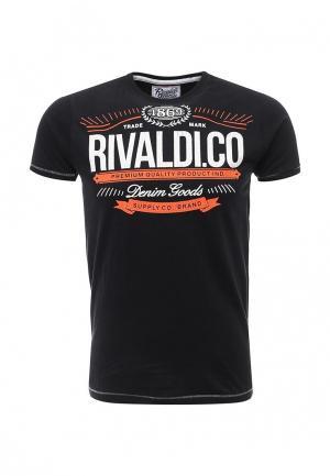 Футболка Rivaldi. Цвет: черный
