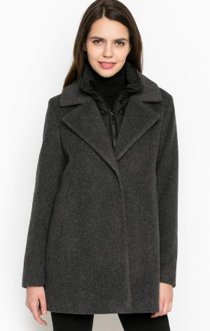 Пальто Cinque. Цвет: серый