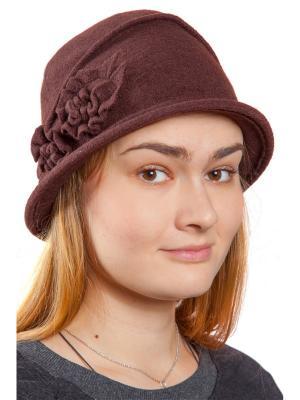 Шляпа Бонита Three S. Цвет: темно-коричневый