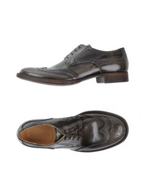 Обувь на шнурках 01000010 by BOCCACCINI. Цвет: свинцово-серый
