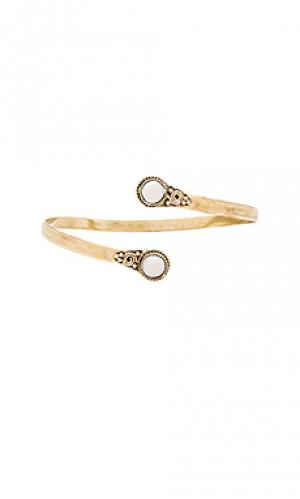 Ободок на руку moon river Natalie B Jewelry. Цвет: металлический золотой