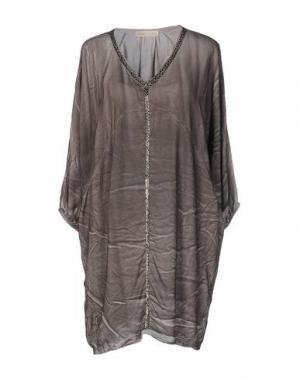 Блузка MONICA •LENDINEZ. Цвет: серый