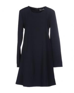 Короткое платье BY ZOÉ. Цвет: темно-синий