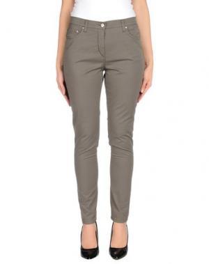 Повседневные брюки ROBERTA PUCCINI by BARONI. Цвет: серый