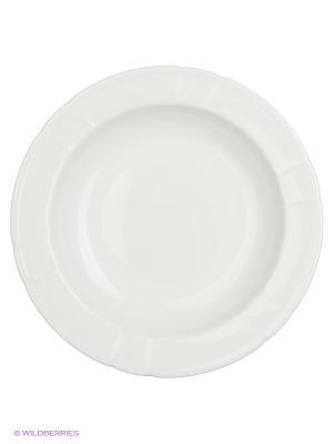 Тарелка глубокая  30 см. 1/12 Royal Porcelain. Цвет: белый