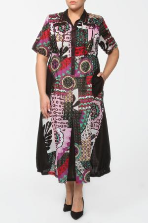 Платье Terra. Цвет: мультиколор