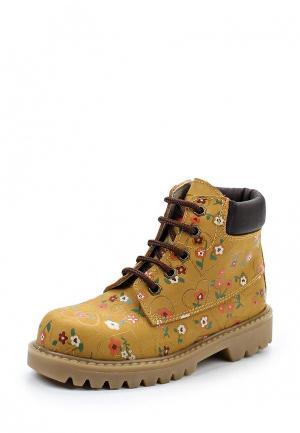 Ботинки Barritos. Цвет: коричневый
