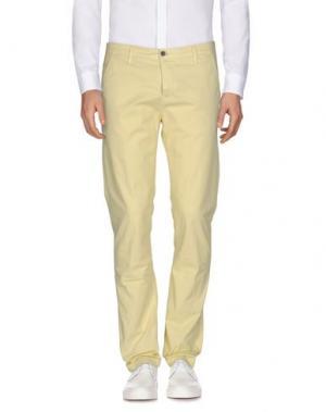 Повседневные брюки CAMOUFLAGE AR AND J.. Цвет: желтый