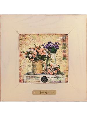 Картина-сувенир Дарю тебе успех Ceramic Picture. Цвет: бежевый