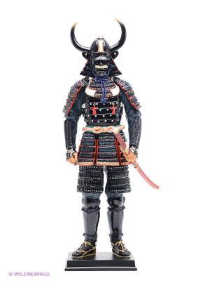 Статуэтка Феодал Ямамото Кансукэ Veronese. Цвет: черный, красный, золотистый