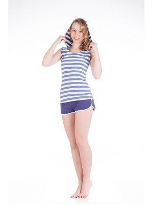 Комплект одежды Lowry. Цвет: синий
