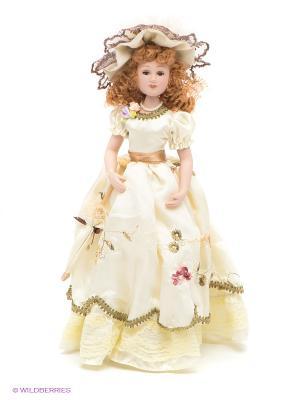 Фарфоровая кукла Диана Lisa Jane. Цвет: белый
