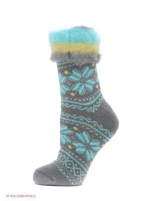 Носки для дома HOSIERY. Цвет: серый