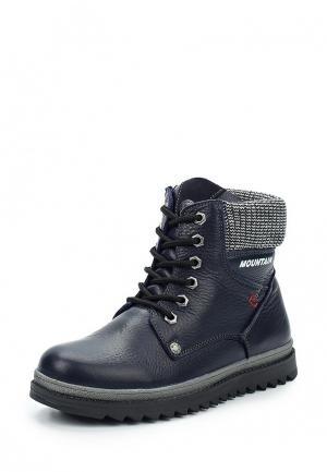 Ботинки Destra. Цвет: синий