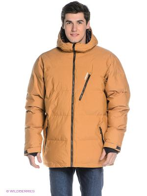 Куртка Quiksilver. Цвет: светло-коричневый