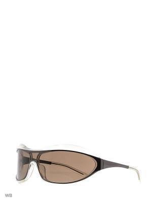 Солнцезащитные очки LC 550 04 Les Copains. Цвет: прозрачный, коричневый