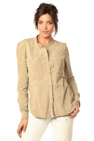 Рубашка Pellessimo. Цвет: серый